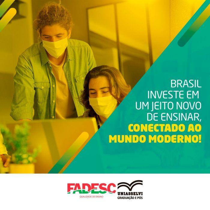 Brasil investe em um jeito novo de ensinar, conectado ao mundo moderno!