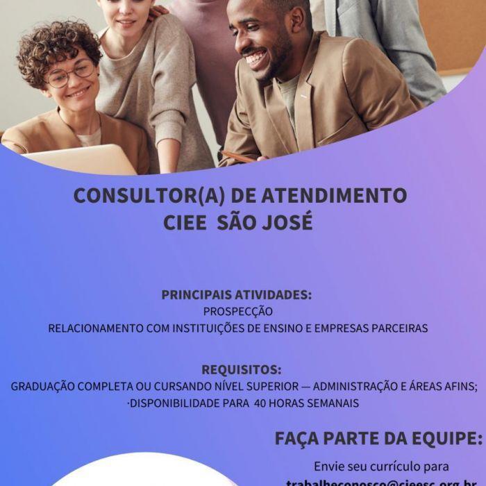 Consultor(a) de Atendimento CIEE - São José